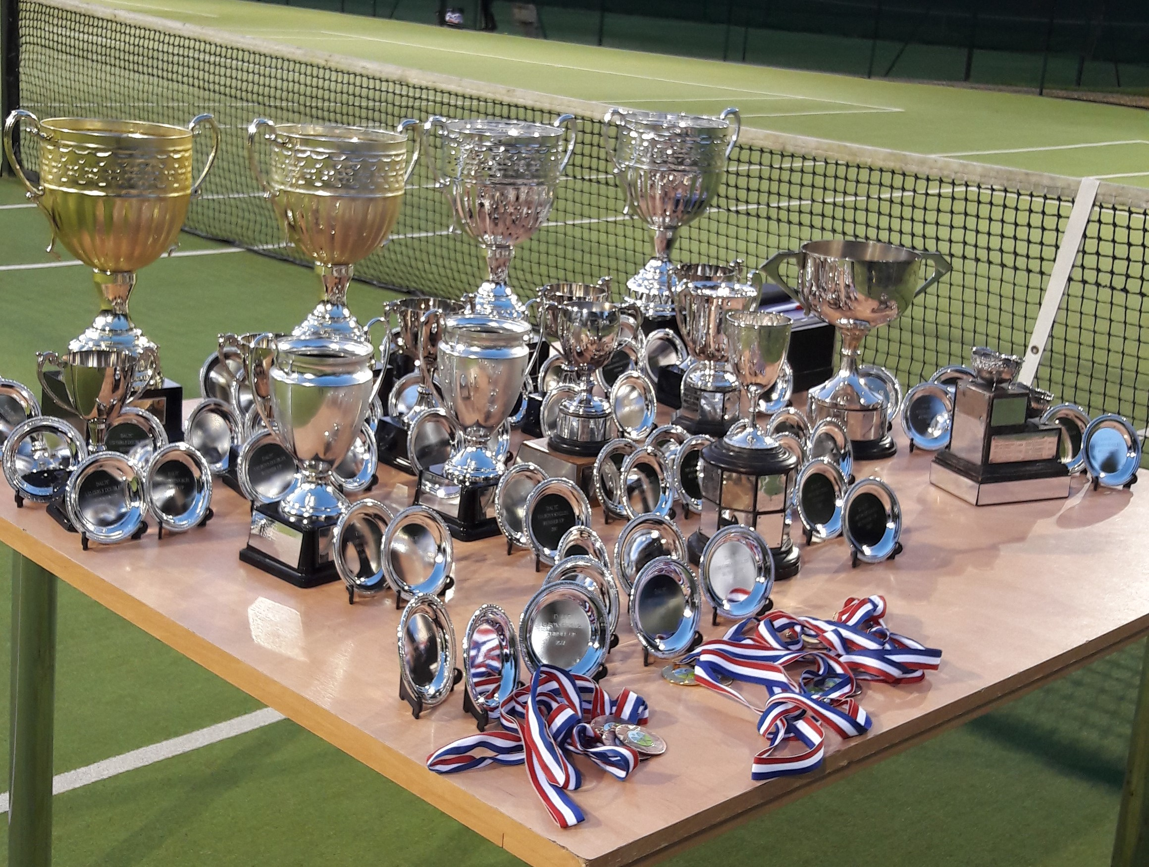 DALTC Trophies for presentation